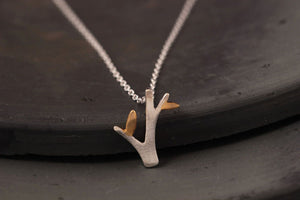 Silver Bonbon Sterling Silver Tree Necklace & Pendant