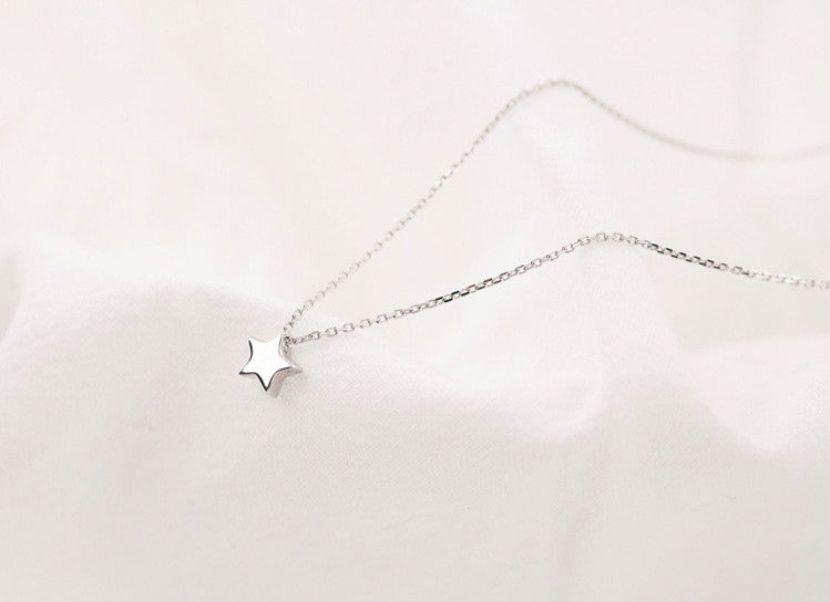 Silver Bonbon Sterling Silver Star Necklace & Pendant