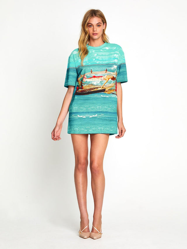 Big Catch Tee Dress