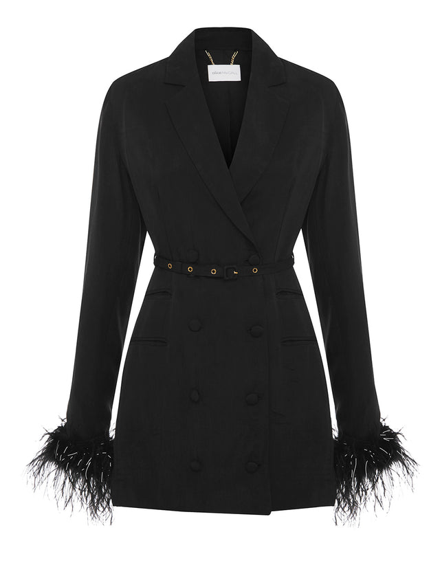 FAVOUR FEATHER JACKET