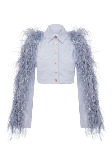 PEACE FEATHER JACKET