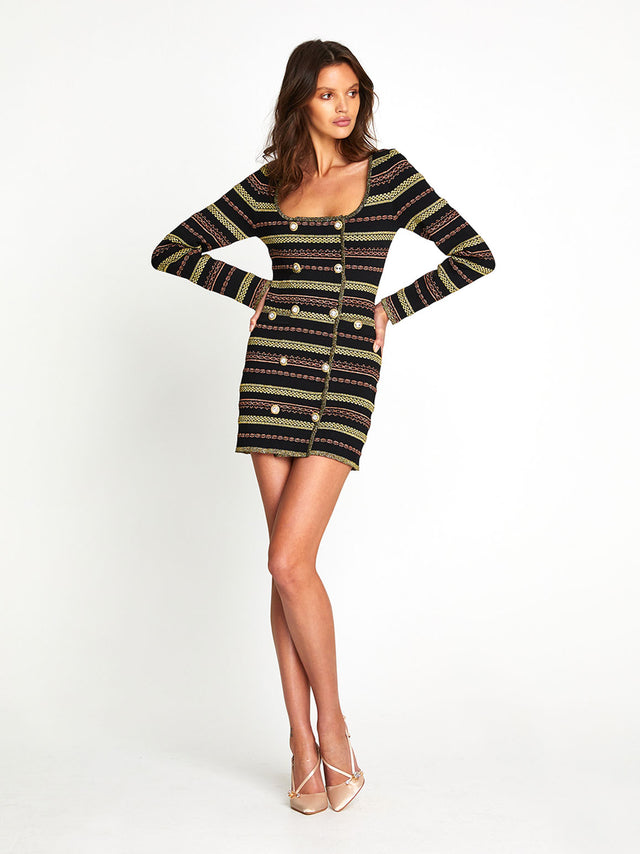 BLACK MAGIC MINI DRESS