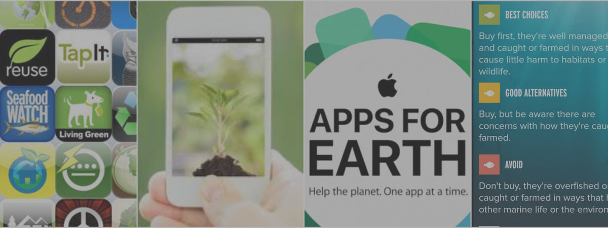 Could 'Green Apps' Save Our Planet? Blog post about the best eco apps on Style by Asia