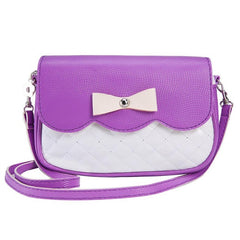 Cute Women / Girls Bow-knot Fashion Casual Travel Crossbody Shoulder Handbag