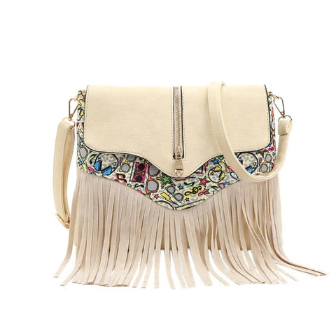 Women Messenger Fringe Tassel Fashion Ladies Shoulder Bag