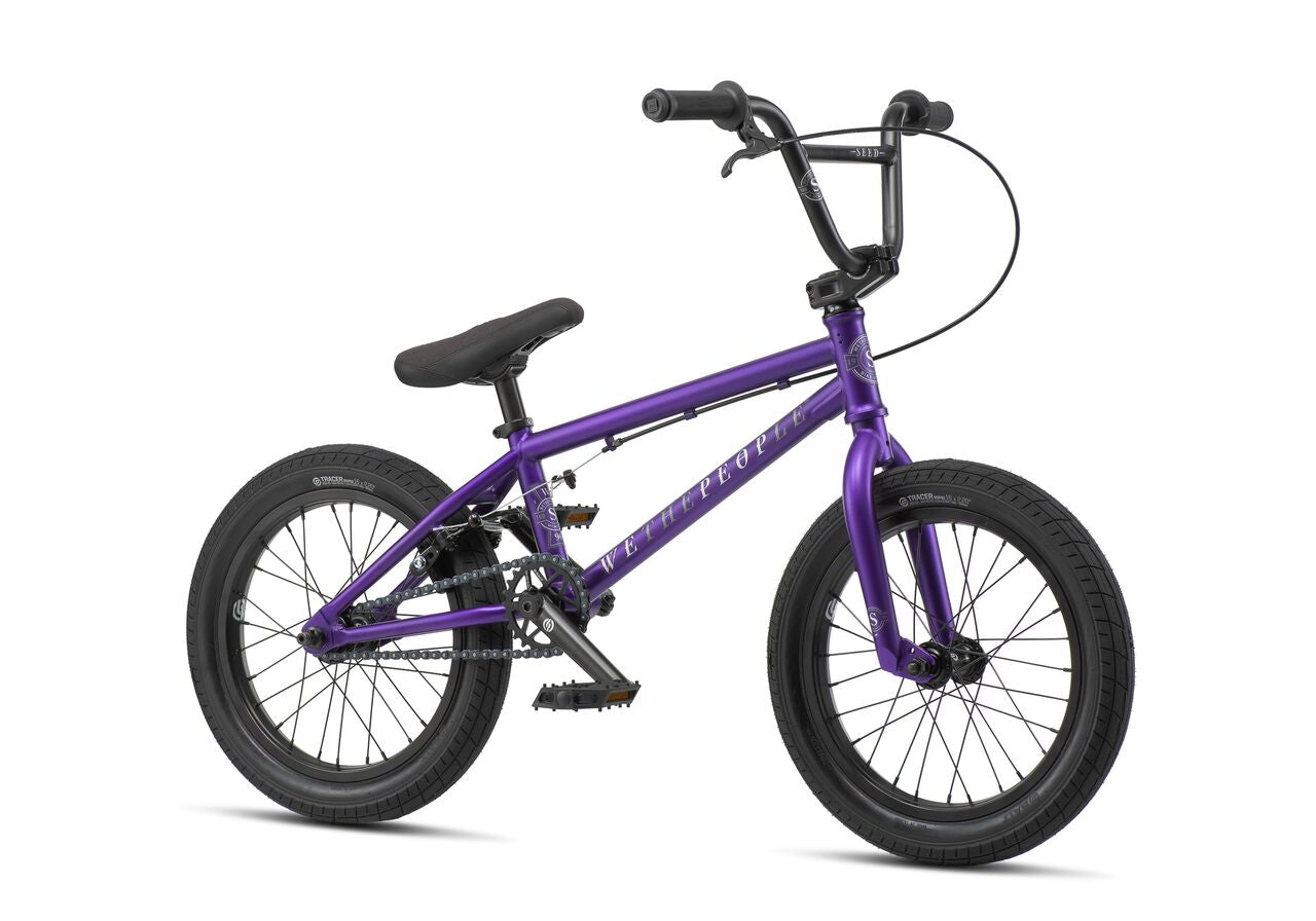 BMX 16 pouces WETHEPEOPLE SEED 16 MATT PURPLE 2019