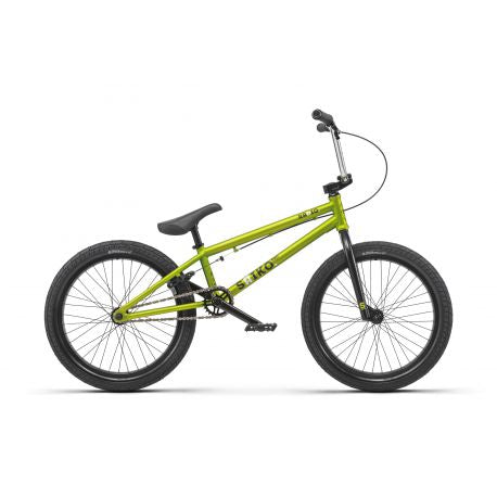 BMX RADIO BIKE SAIKO MATT METALLIC LIME 2019