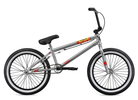 BMX MONGOOSE L100 NICKEL 2019