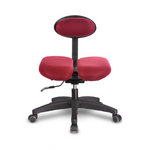 Ergonomic Chair(Fixed Type): HARA-D  with Lumbar Support no wheel