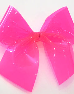 Shocking Pink Pool Bow