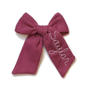 Berry Name Bow