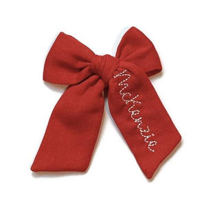 Poppy Name Bow