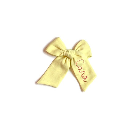 Canary Name Bow