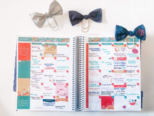 Load image into Gallery viewer, Fall Monogrammed Planner Clips