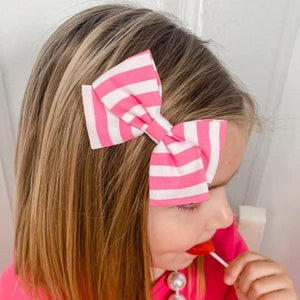 Bright Pink Stripe
