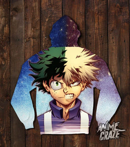 Bakugo & Midoriya Hoodie(Exclusive) - Anime Craze