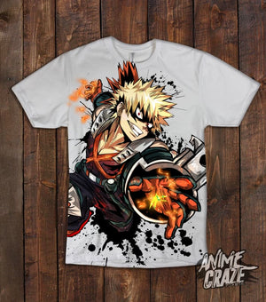 Bakugou T-shirt (Exclusive) - Anime Craze