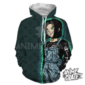 Beast Android 17 Hoodie(Exclusive) - Anime Craze