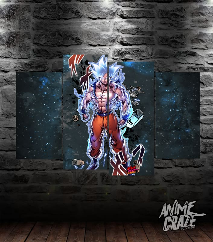 Beast Goku Canvas(Exclusive) - Anime Craze