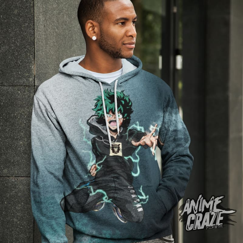 Beast Midoriya Hoodie(Exclusive) - Anime Craze