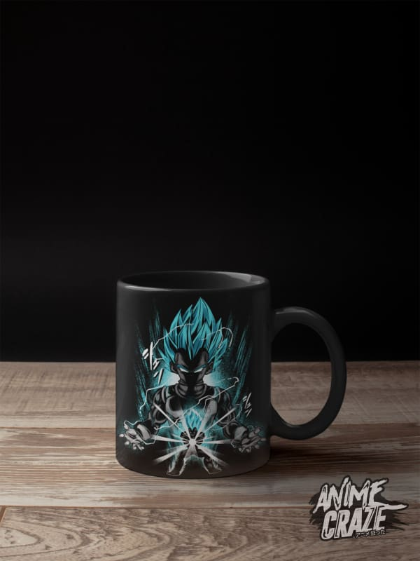 Blue Vegeta Mug(Exclusive) - Anime Craze