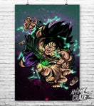 Broly Poster(Exclusive) - Anime Craze