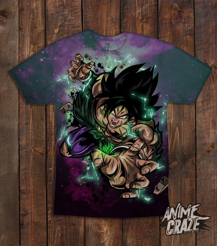 Broly T shirt(Exclusive) - Anime Craze