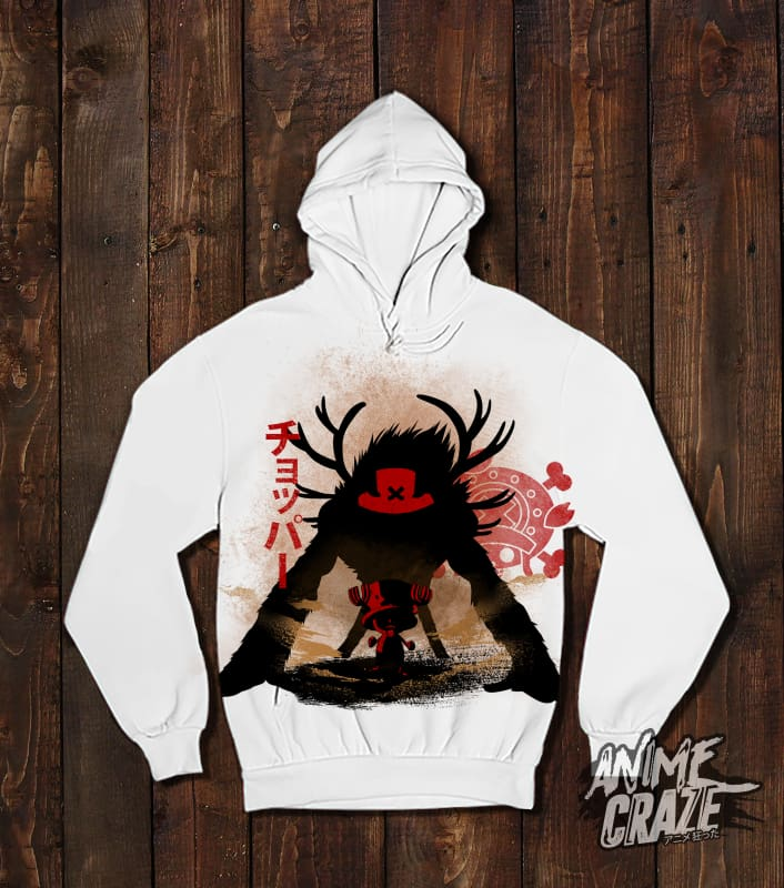 Chopper Pullover Hoodie(Exclusive) - Anime Craze