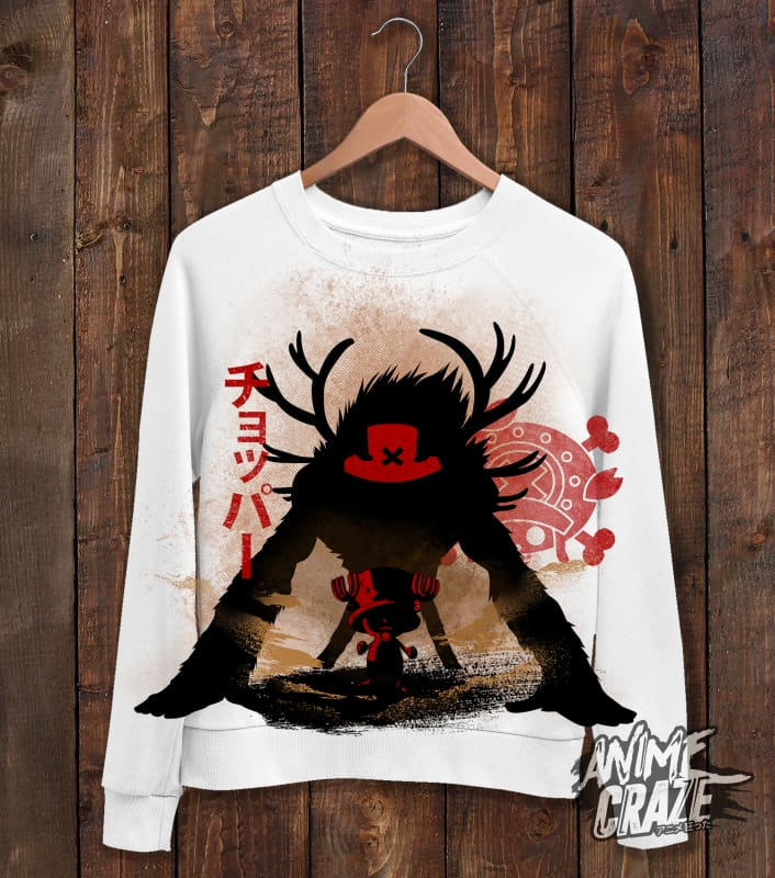 Chopper Sweat Shirt(Exclusive) - Anime Craze