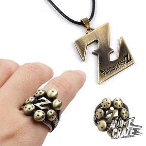 Dragon ball Ring + Necklace combo(Limited Time) - Anime Craze
