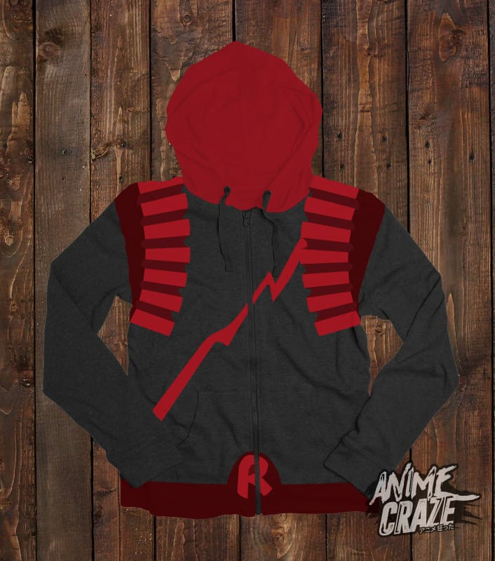 Eijiro Kirishima Zip-up Hoodie(Exclusive) - Anime Craze