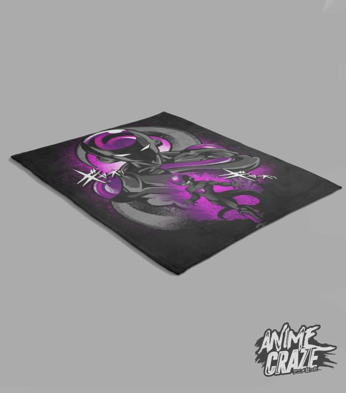 Frieza Fleece Blanket(Exclusive) - Anime Craze