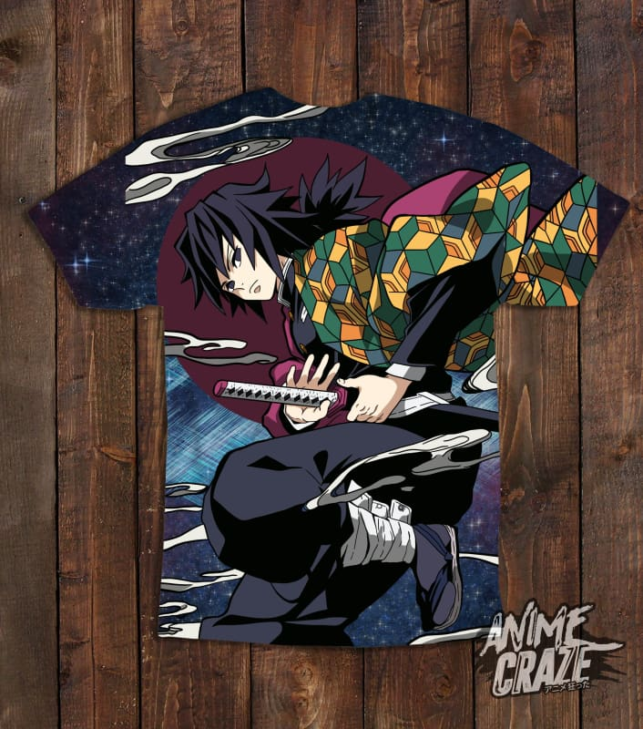 Giyu Tomioka T-shirt(Exclusive) - Anime Craze