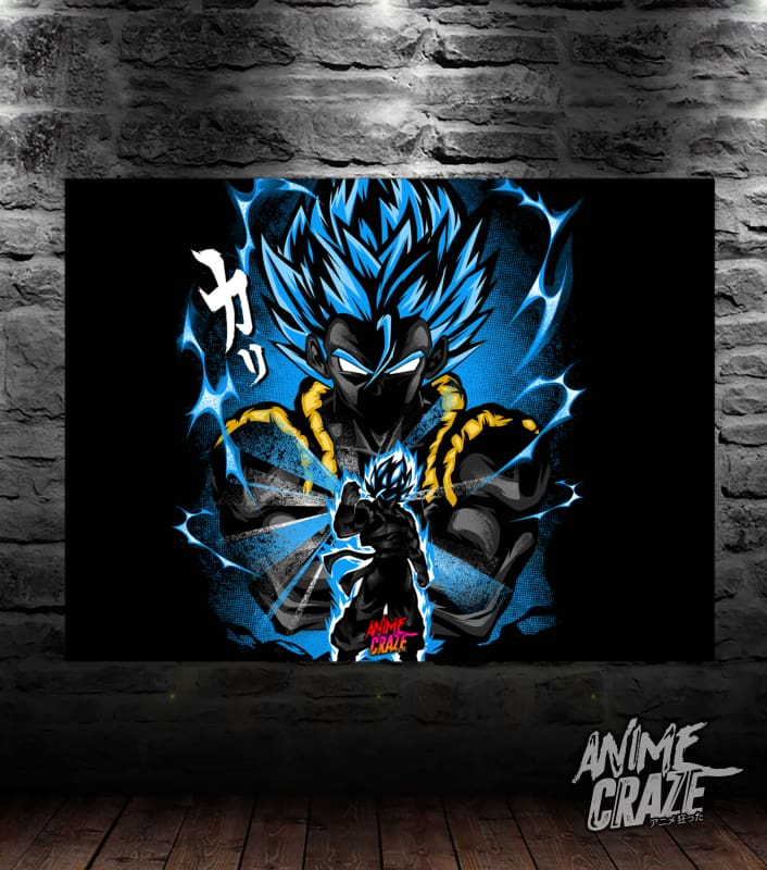 Gogeta Fusion Canvas(Exclusive) - Anime Craze