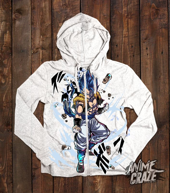 Gogeta Zip-Up Hoodie (Exclusive) - Anime Craze