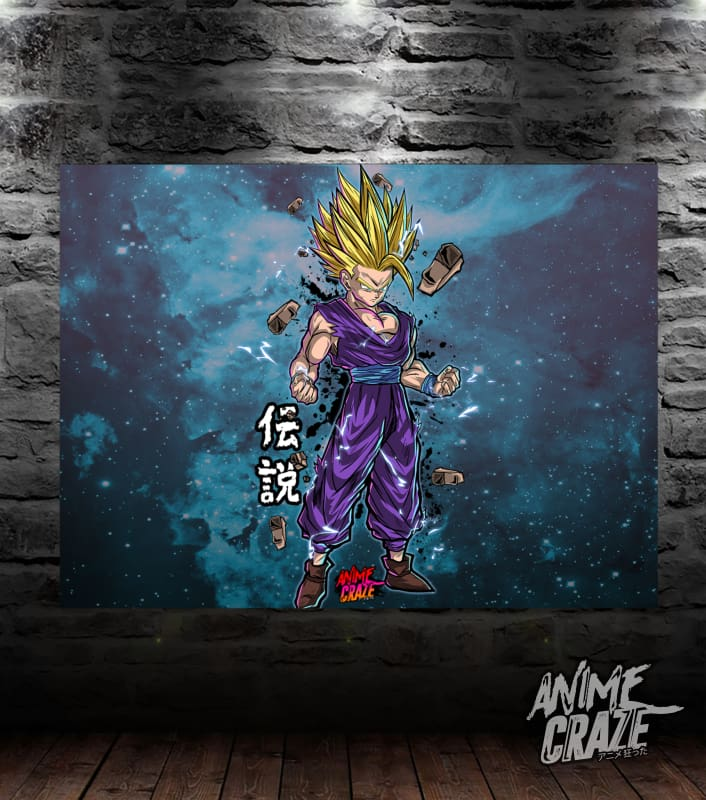 Gohan Canvas(Exclusive) - Anime Craze