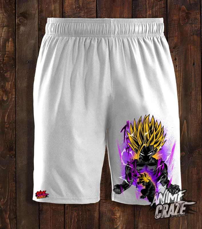 Gohan Swimming Shorts(Exclusive) - Anime Craze