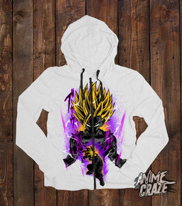 Gohan Zip-Up Hoodie(Exclusive) - Anime Craze