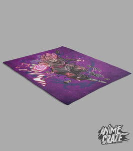 Goku Black Fleece Blanket(Exclusive) - Anime Craze