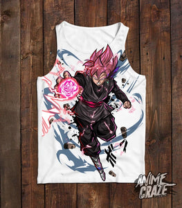 Goku Black Tank Top(Exclusive) - Anime Craze