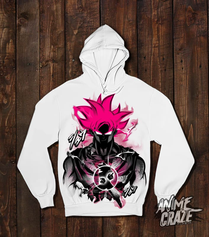 Goku God Pullover Hoodie(Exclusive) - Anime Craze
