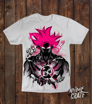 Goku God T-shirt(Exclusive) - Anime Craze