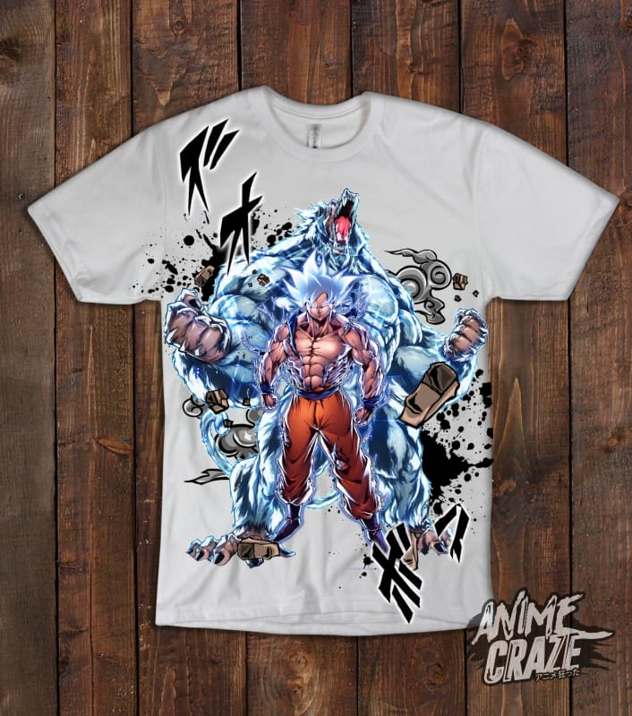 Goku & Oozaru T- Shirt(Exclusive) - Anime Craze