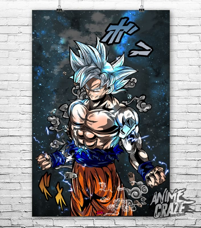 Goku Poster(Exclusive) - Anime Craze