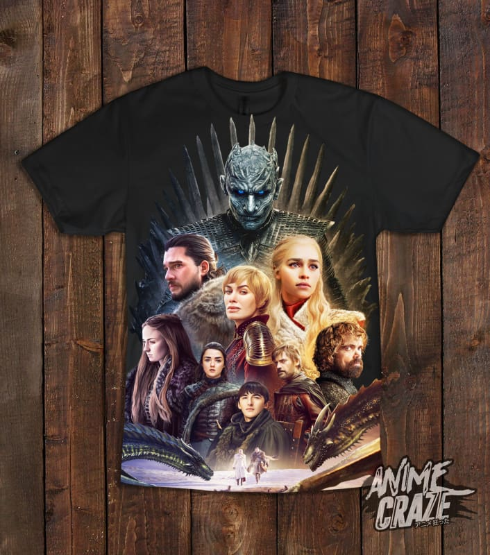 GOT T-shirt(Exclusive) - Anime Craze