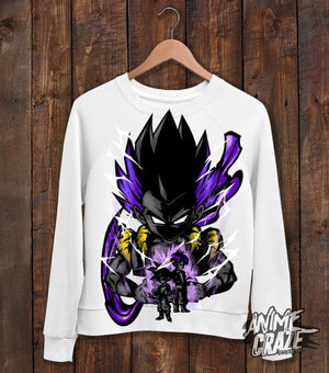 Goten Sweat Shirt(Exclusive) White / S Dragon Ball
