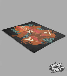 Inosuke Fleece Blanket(Exclusive) Demon Slayer