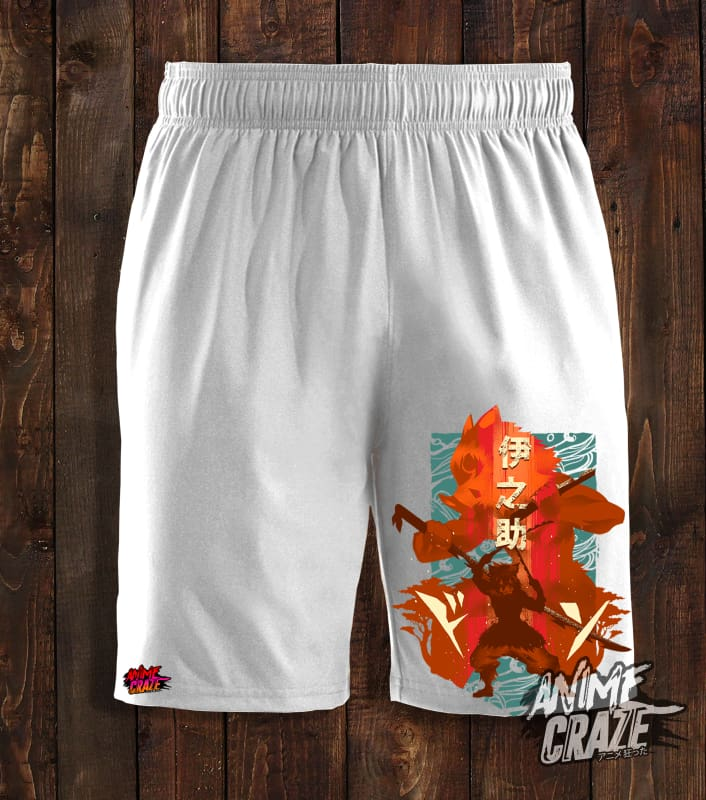 Inosuke Swimming Shorts(Exclusive) Demon Slayer