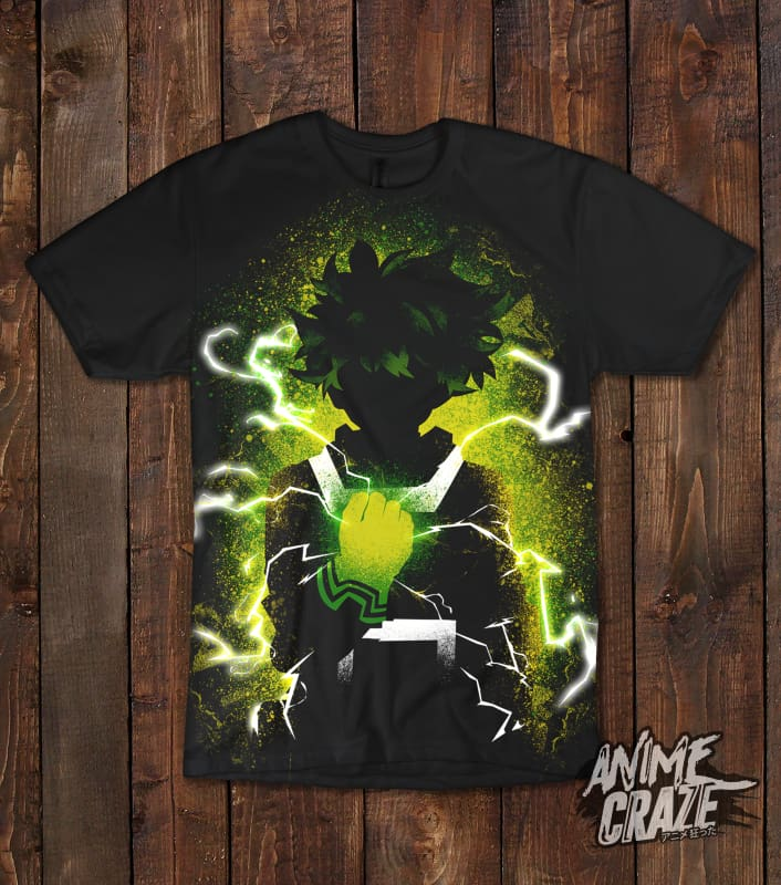 Izuku T-shirt(Exclusive) - Anime Craze