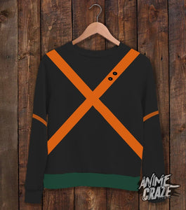Katsuki Bakugou Sweat Shirt(Exclusive) - Anime Craze